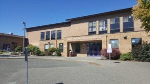 Front of Anacortes High School