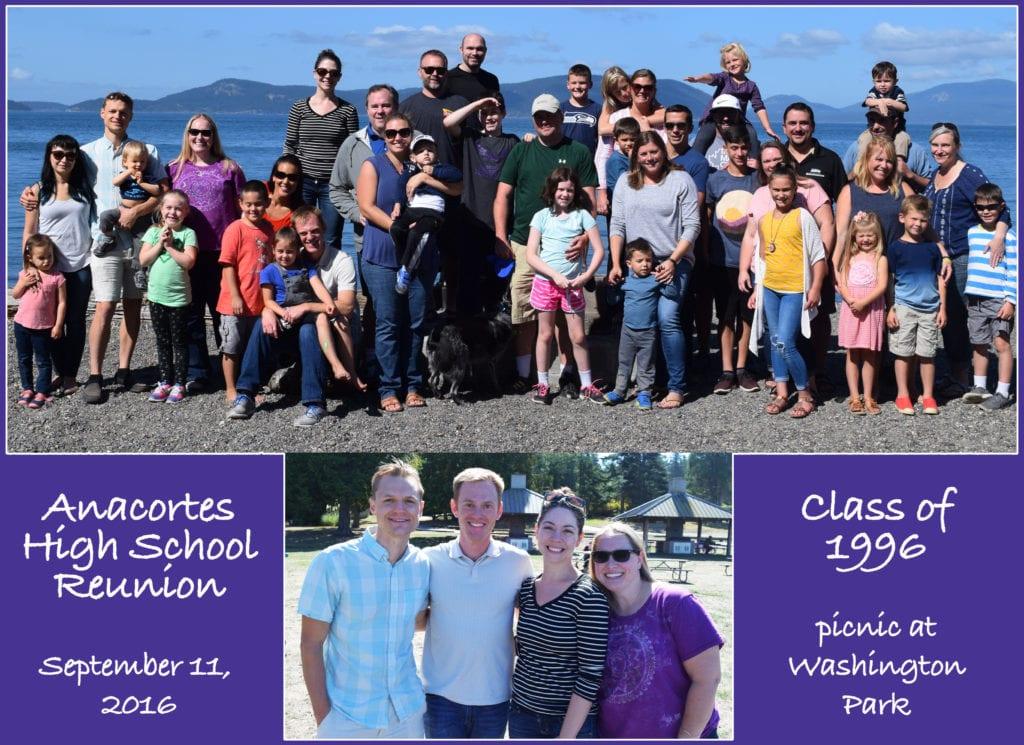 AHS Class of 1996 Family Fun Day Reunion