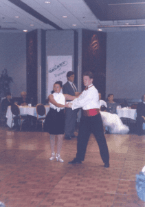 jesse in ballroom competition