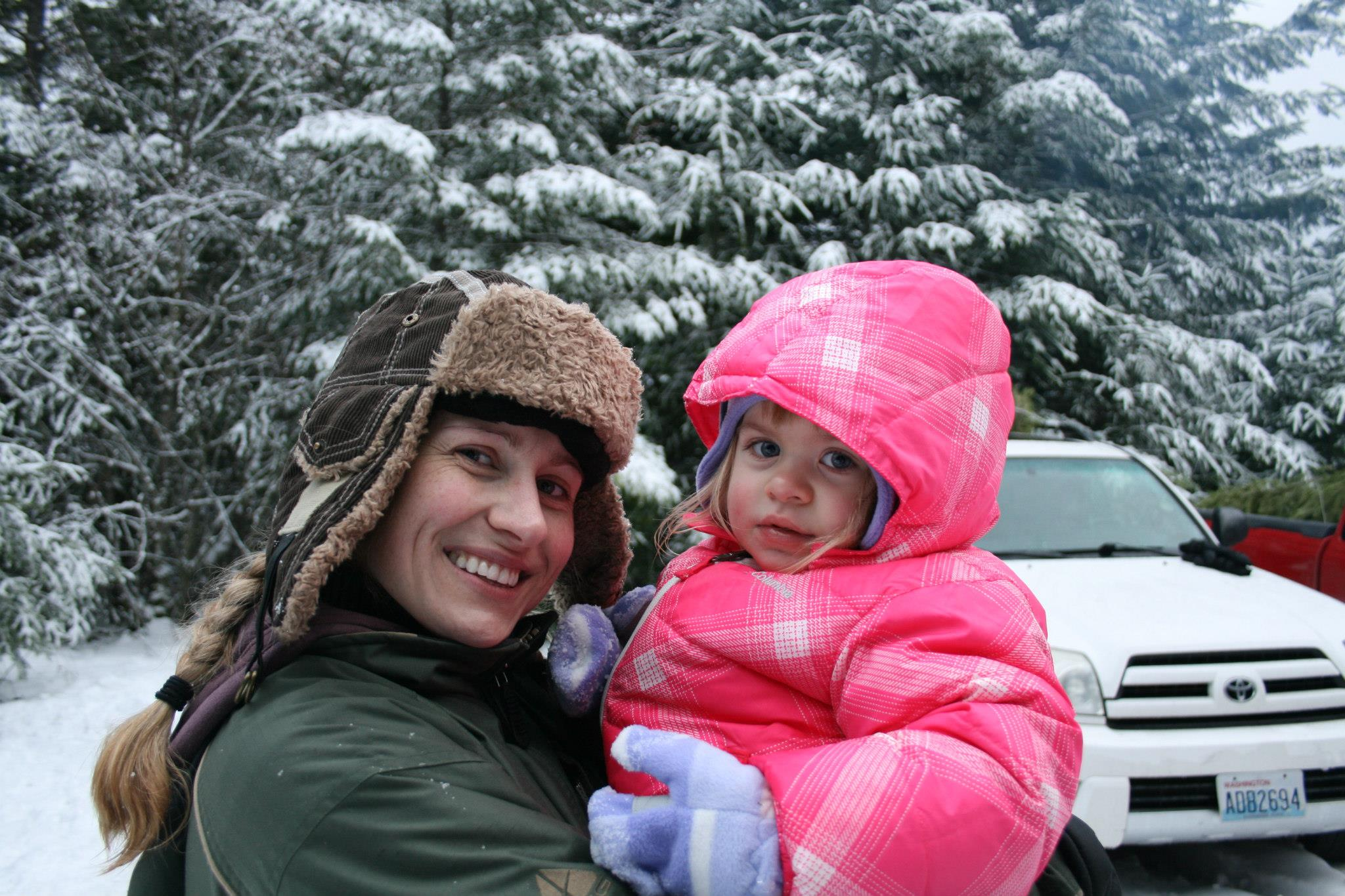 Suzanne Earles with daughter