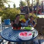 Alejandra Meza-Tabares picnic